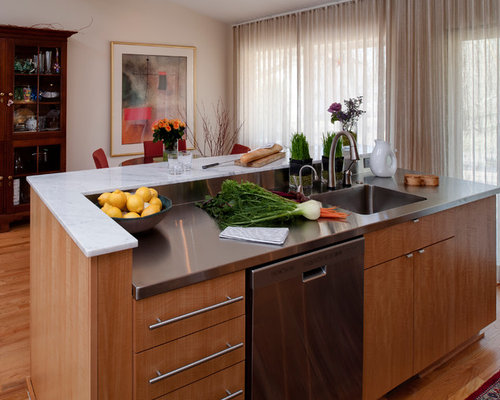 Anigre wood home design ideas pictures remodel and decor for Anigre kitchen cabinets