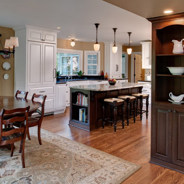 Downtown Northville Traditional Kitchen