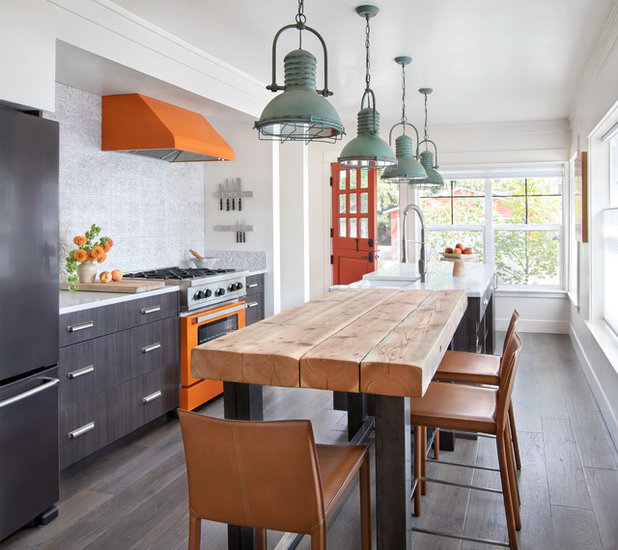 Farmhouse Kitchen by Denman Construction