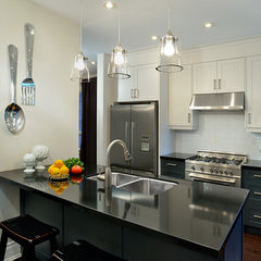 contemporary kitchen by Evelyn Eshun Interior Design
