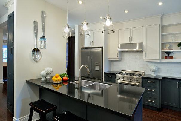 Contemporary Kitchen by Evelyn Eshun Interior Design