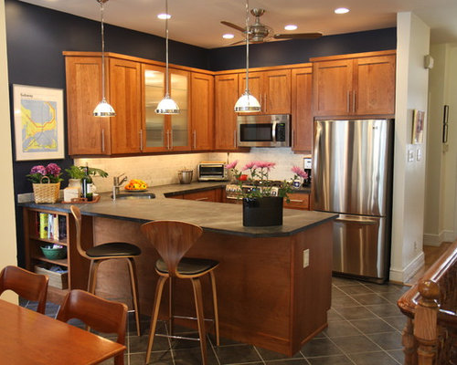 Golden Oak Cabinets Houzz