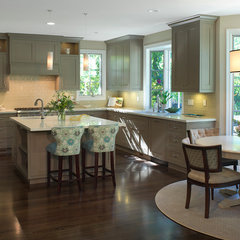 traditional kitchen by Carolyn Woods Design