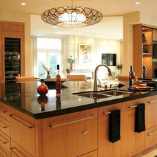 Contemporary Kitchen by Vicki Blakeman Interior Design