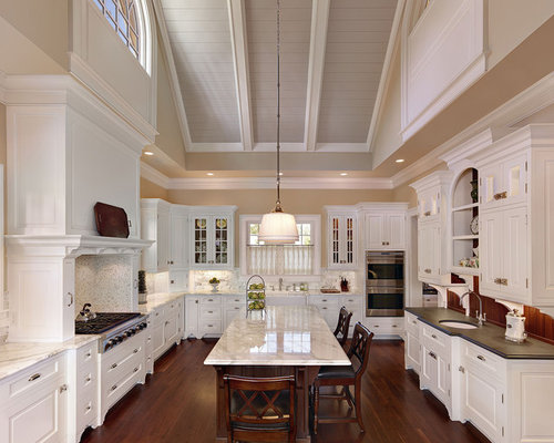 lighting for cathedral ceiling in the kitchen vaulted ceiling kitchen houzz 9884