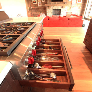 "Drawer dividers under 36"" Wolf Gas Cooktop"
