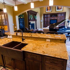 Traditional Kitchen by Brown Wegher Construction