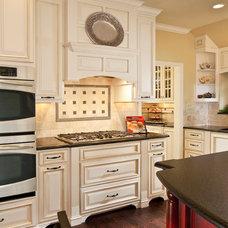 Traditional Kitchen by Barbara Gilbert Interiors