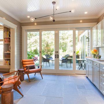 Drew McGukin Interiors - East Hampton Residence Sunroom