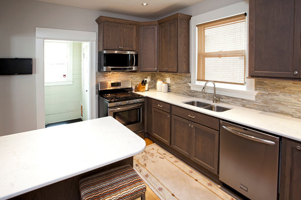 Transitional Kitchen by The Cabinet Store