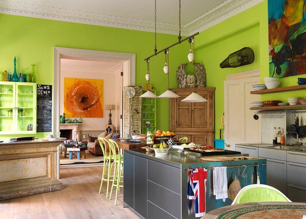 Eclectic Kitchen by Drummonds Bathrooms
