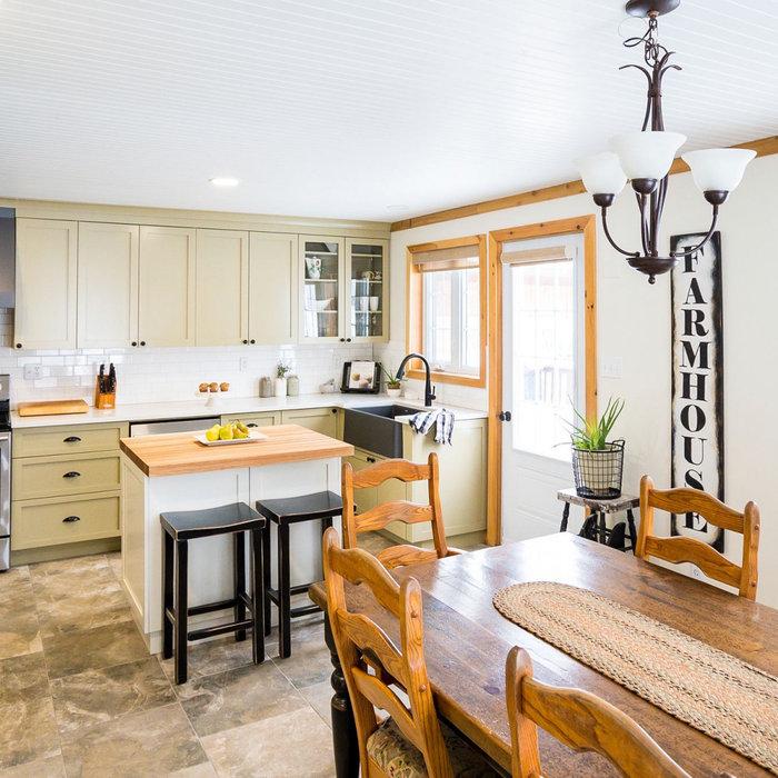 True Farmhouse Kitchen
