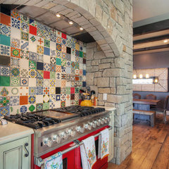 eclectic kitchen by Olson Defendorf Custom Homes