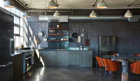 New This Week: 3 Industrial-Inspired Loft Kitchens