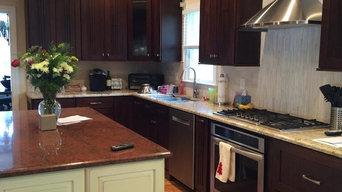 Dual Color Kitchen