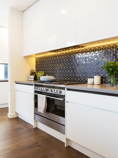 Tile splashback home design ideas renovations photos Splashback tiles kitchen ideas