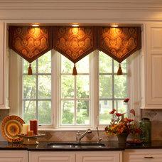 Traditional Kitchen by Fine Designs & Interiors, Ltd.