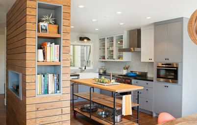 Houzz Tour: Industrial Flavor and Playful Touches in a 1980s Home