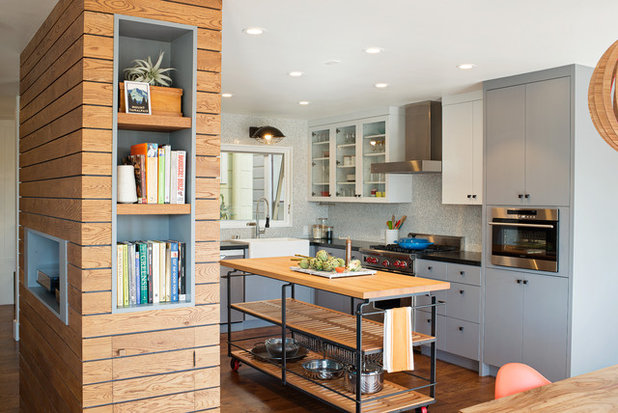 Houzz Tour Industrial Flavor And Playful Touches In A