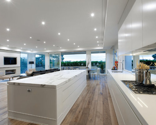 Modern Open Concept Kitchen Design Ideas & Remodel Pictures | Houzz