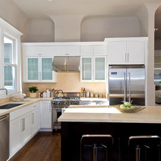Contemporary Kitchen by Jackie Alonzo Designer at K.O.D.