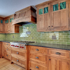 Traditional Kitchen by Mark D. Williams Custom Homes Inc
