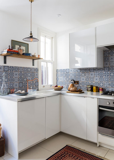 Eclectic Kitchen by Anouska Tamony Designs- Architecture & Interiors