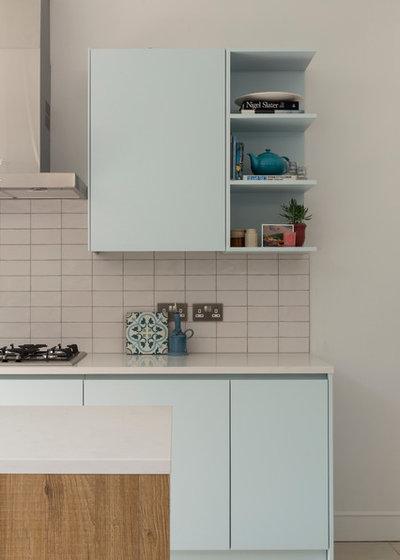 moderne landhausk che in einem neuen hellen anbau in london. Black Bedroom Furniture Sets. Home Design Ideas