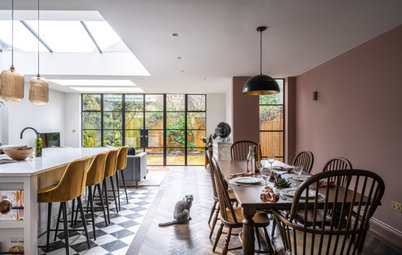 Houzz Tour: A Victorian Home With a Stunning Open-plan Extension