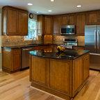 Timonium L Shaped Kitchen - Traditional - Kitchen ...