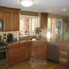 Traditional Kitchen by Granite State Cabinetry