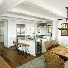 Beach Style Kitchen by M. Brennan Architects, Inc.