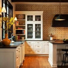Farmhouse Kitchen by Cornerstone Construction Services LLC