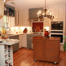 Farmhouse Kitchen by Cabinet Connection of NC
