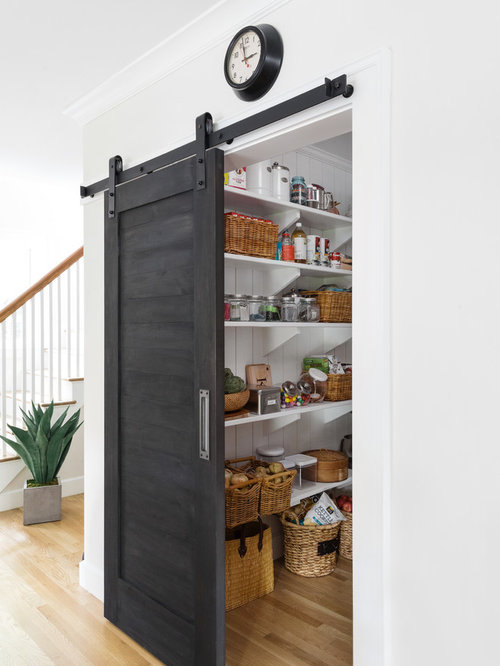 mid sized traditional kitchen pantry photos example of a mid sized classic light - Pantry Design Ideas