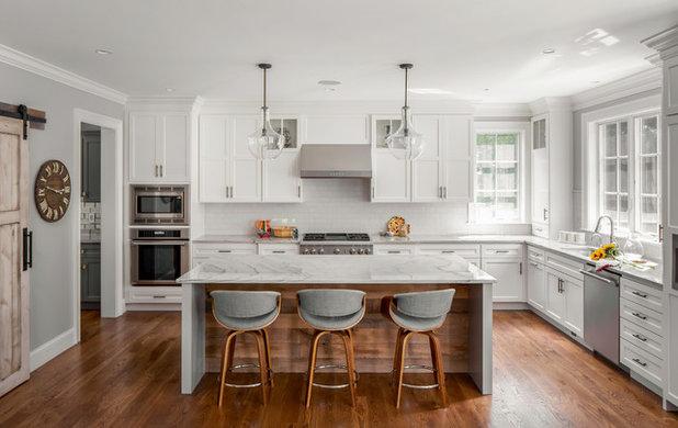 Современная классика Кухня by Hawthorn Builders