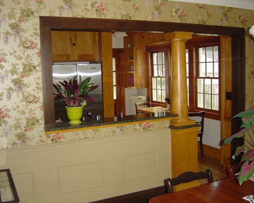 Dutch colonial remodel for Kitchen remodel colonial home