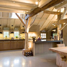 Rustic Kitchen by Leicht Westchester Kitchens