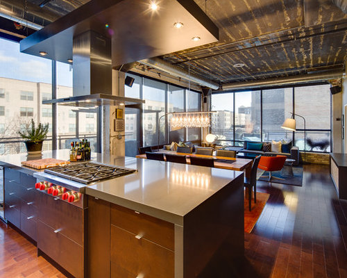 Industrial minneapolis kitchen design ideas remodel pictures houzz - Kitchen design minneapolis ...