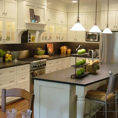 eclectic kitchen by Dwellings