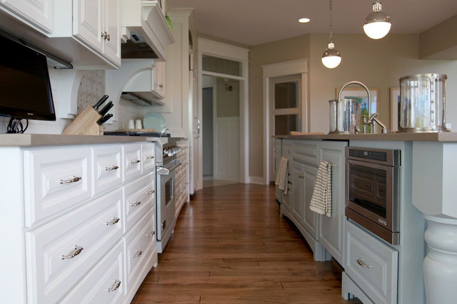 Transitional Kitchen by Dwellings