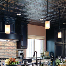 Traditional Kitchen by American Tin Ceiling Company