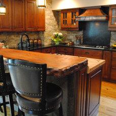 Rustic Kitchen by Sterling Kitchen & Bath