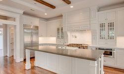 E. 13th Street White Kitchen