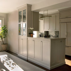 Transitional Kitchen by Remodeling Specialists Inc.