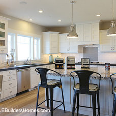 Traditional Kitchen by E Builders Homes