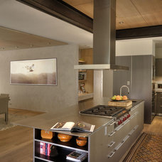 Contemporary Kitchen by E CUMMINGS ARCHITECT PC