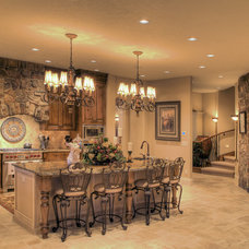 Mediterranean Kitchen by Tradewinds General Contracting, Inc.