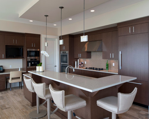Dark Brown Cabinets Ideas Pictures Remodel And Decor