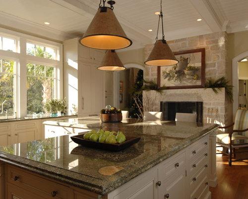 Grey Wood Floors With Brown Furniture
